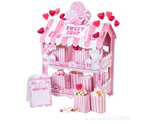 Puesto Sweet Shop rosa Pink N Mix - Talking Tables