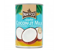 Leche de coco light 400 ml - Natco