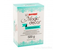 Preparado encajes glasa elástica Magic Decor 500 gr - Pavoni