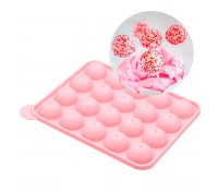 Molde silicona para hornear cake pops - Kitchen Craft