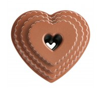 Molde Tiered Heart Bundt Pan - Nordic Ware