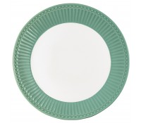 Plato de postre Alice Dusty Green 22,5 cm - GreenGate