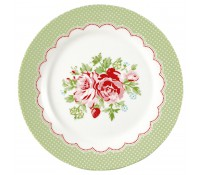 Plato de postre Mary White 20,5 cm - GreenGate