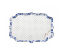 Plato rectangular Royal Blanc 26 x 17,5 cm - Pip Studio