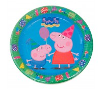 Platos Peppa Pig y George 23 cm (8)
