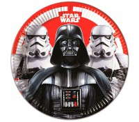 Platos de papel Star Wars  Darth Vader 23 cm (8)