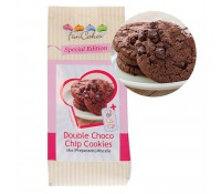 Preparado para galletas de chocolate con chips Double Choco Chip Cookies 400 gr - Funcakes