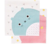 Servilletas de papel Noodoll (20) - My Little Day