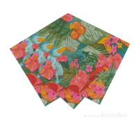 Servilletas de papel Tropical Fiesta (20) - Talking Tables