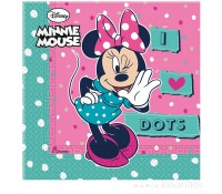 Servilletas de papel Minnie (20)