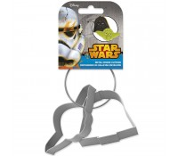 Set 2 cortadores Star Wars 13 cm