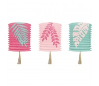 Set 3 lámparas de papel Tropical Breeze - Delight Department