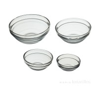 Set 4 boles de cristal de varios tamaños - Kitchen Craft