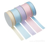 Set 5 lazos tonos pastel - Kitchen Craft