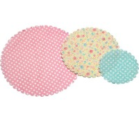 Set de blondas tonos pastel - Kitchen Craft