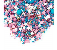 Sprinkles multicolor Cotton Candy 90 gr - Happy Sprinkles