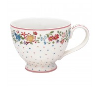Taza con asa Belle White 400 ml - GreenGate