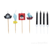Velas Piratas (8) - Kitchen Craft